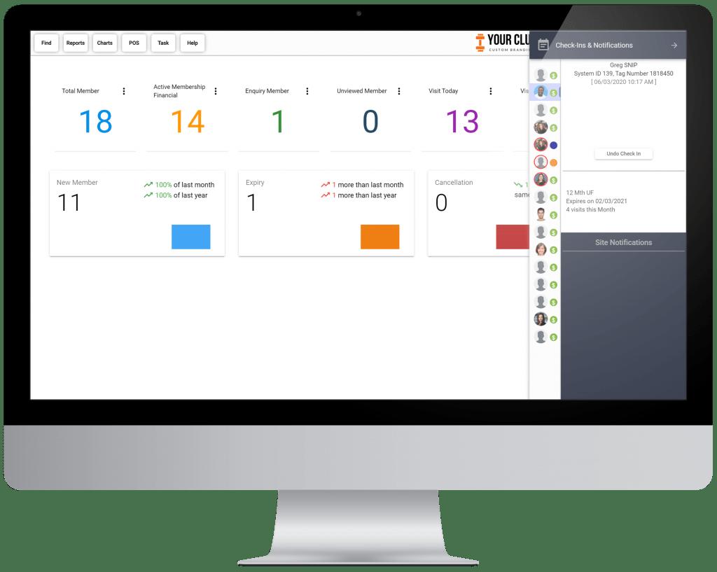VIGYR Gym Management Software - Check-In Big 2