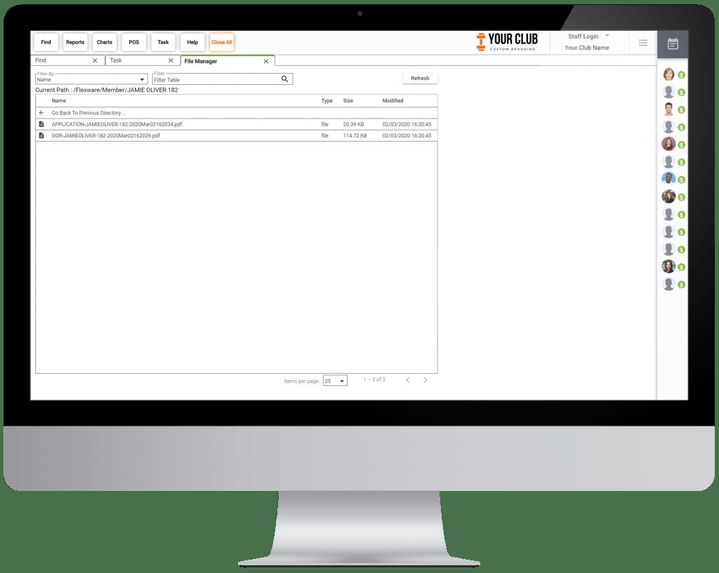 VIGYR Gym Management Software - Cloud Files Big 1