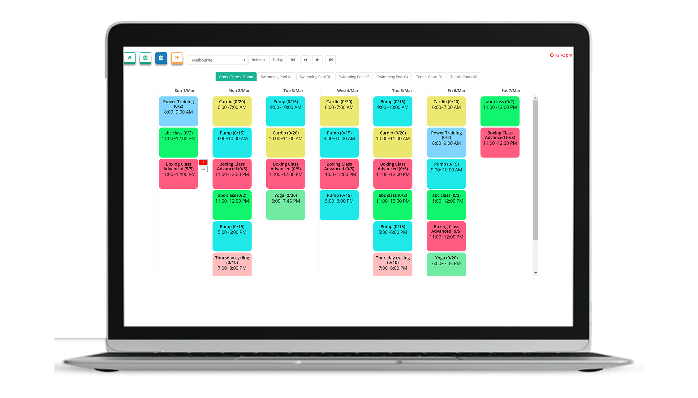 VIGYR Gym Management Software - Online Booking 2