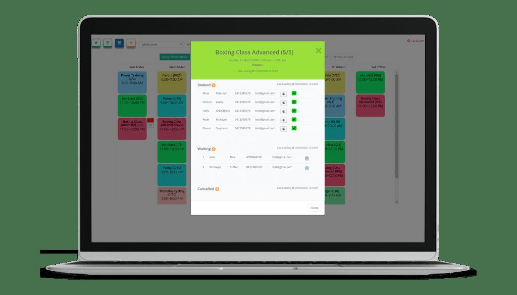 VIGYR Gym Management Software - Online Booking 3