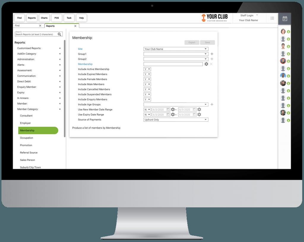 VIGYR Gym Management Software - Reporting Big 1