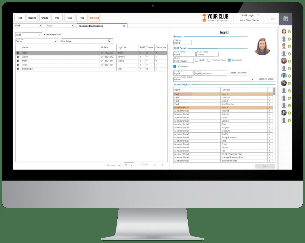 VIGYR Gym Management Software - Resource Maintenance Big 1
