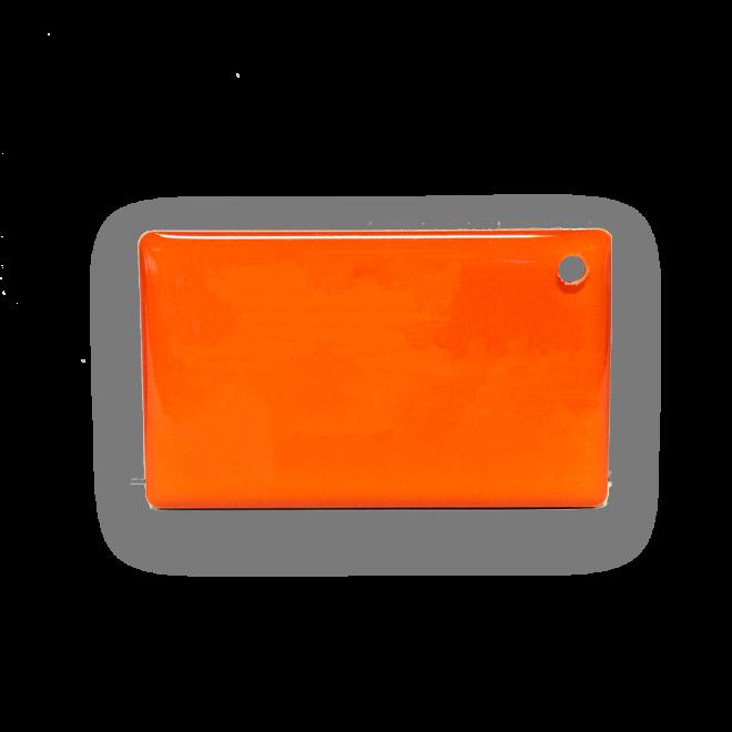 Gym Epoxy Tag Orange