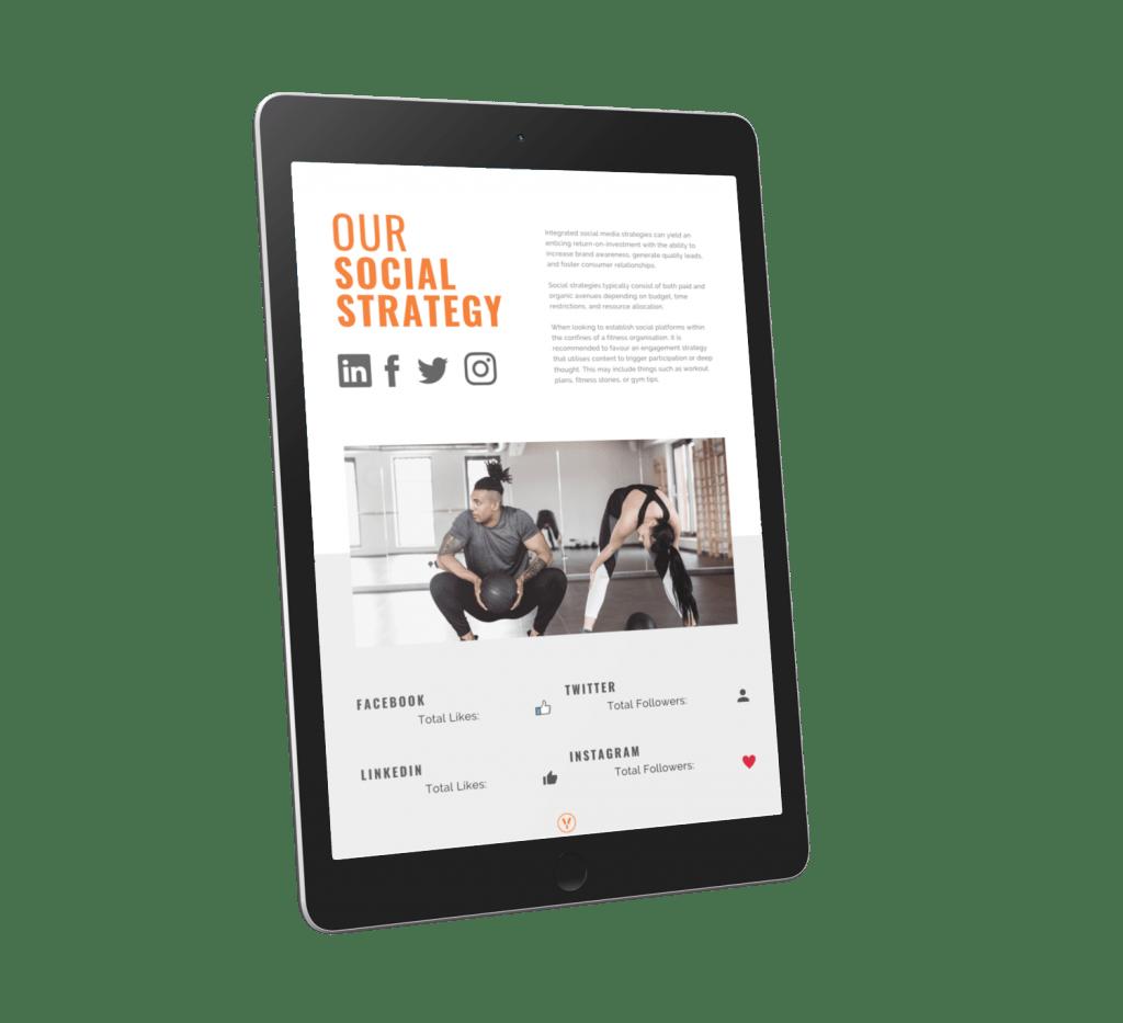Free Gym Marketing Plan Social Preview