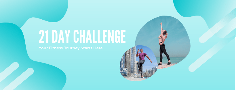 Gym Community 21 Day Challenge Promotion