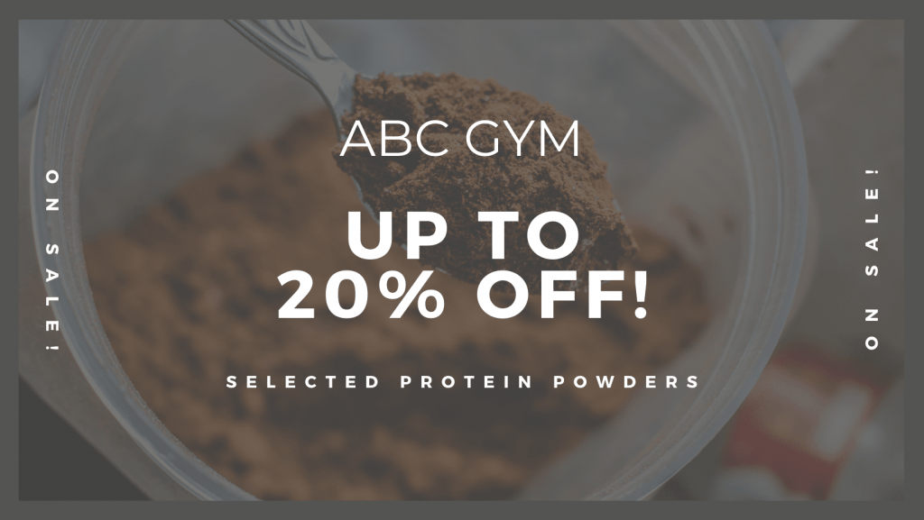 Gym product sales promotion