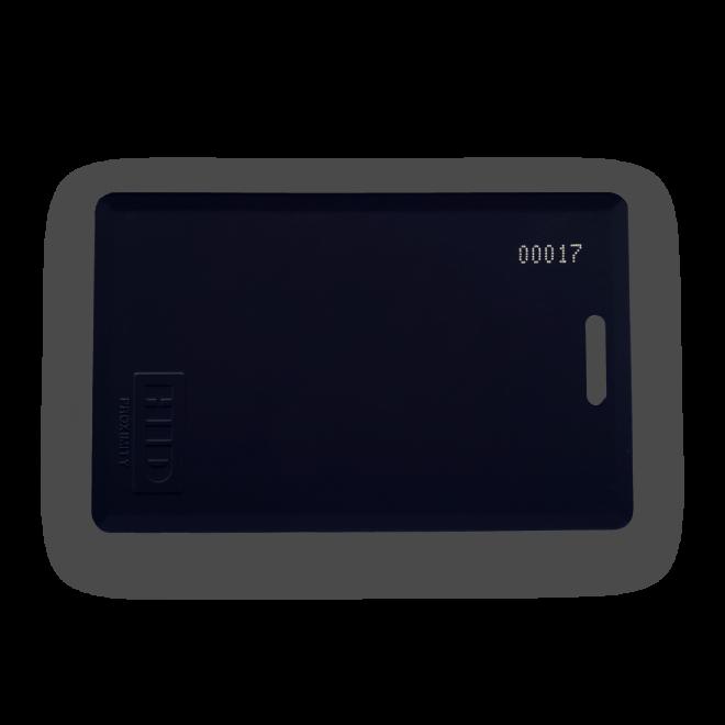 Gym RFID Card Tag Black