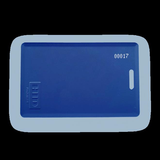 Gym RFID Card Tag Blue