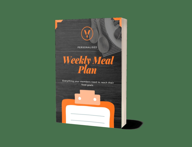 Gym Member Weekly Meal Plan Template Download PDF