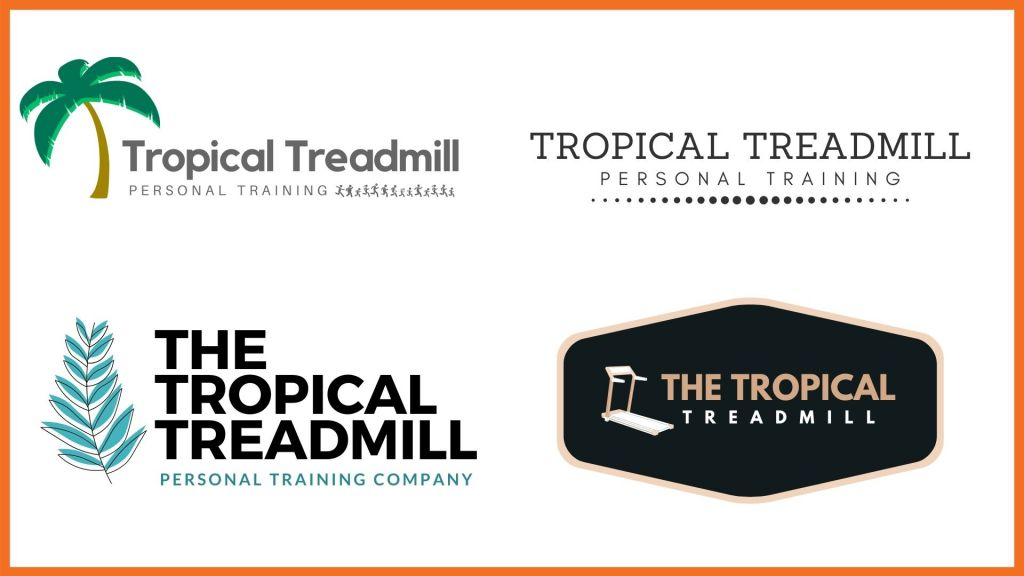 Personal Trainer Business Logos